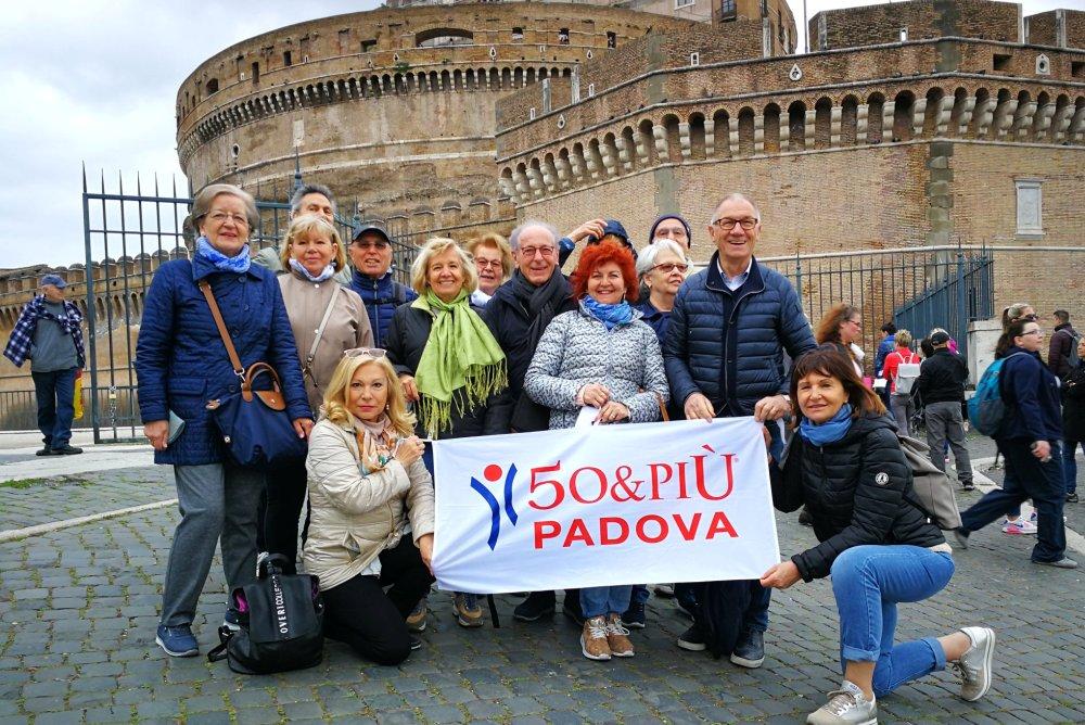 50&Più padova in gita a Roma