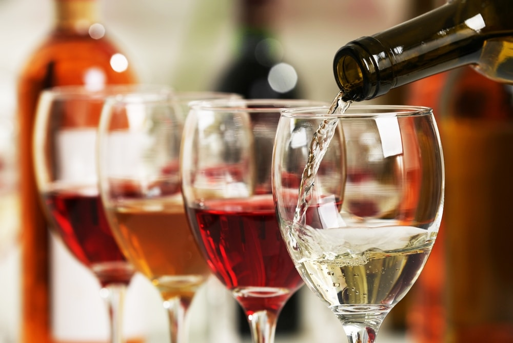 bicchieri di vino Confcommercio