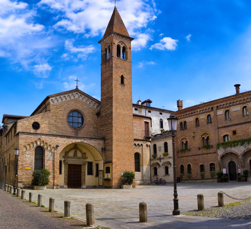 Padova chiesa di San Nicolò