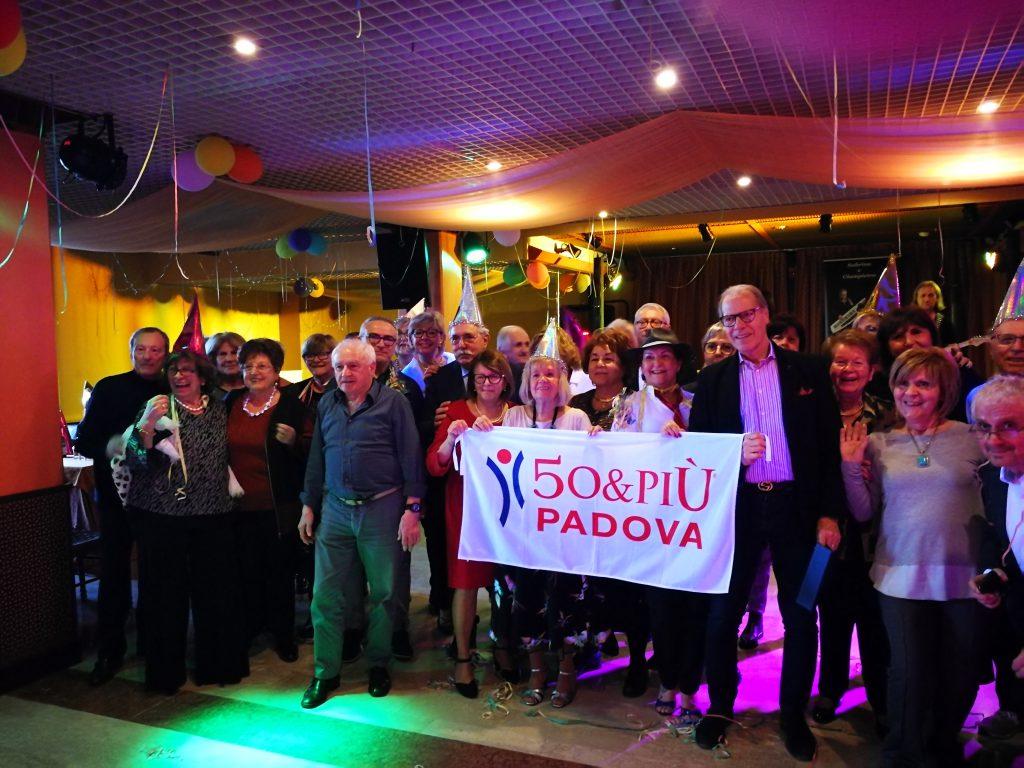 50&Più Padova, la festa di cranevale