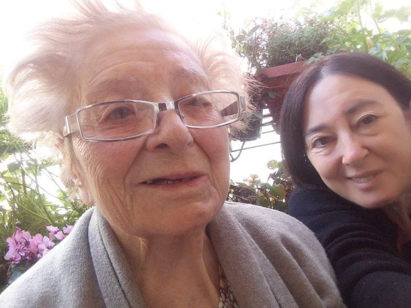 Un selfie di due donne