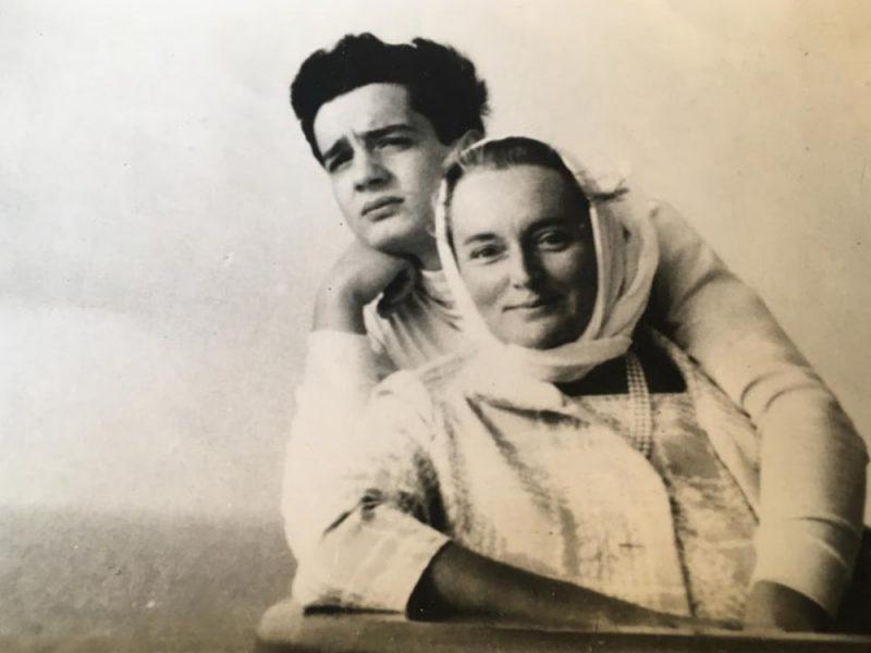 Una coppia in uno scatto del 1967