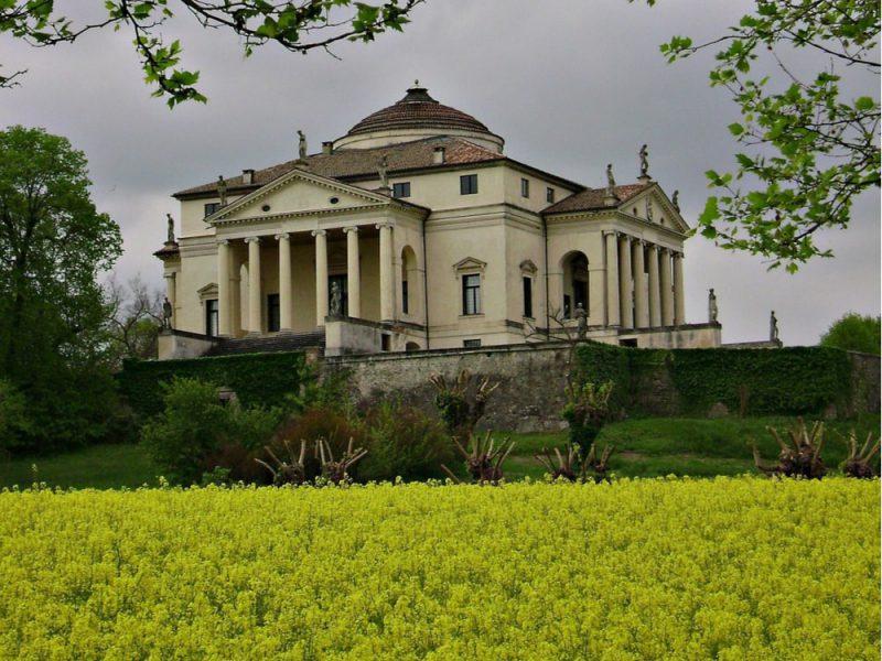 """Una foto della villa palladiana """"La Rotonda"""""""