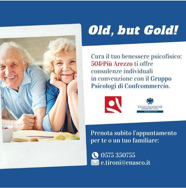 locandina iniziativa Old, but Gold