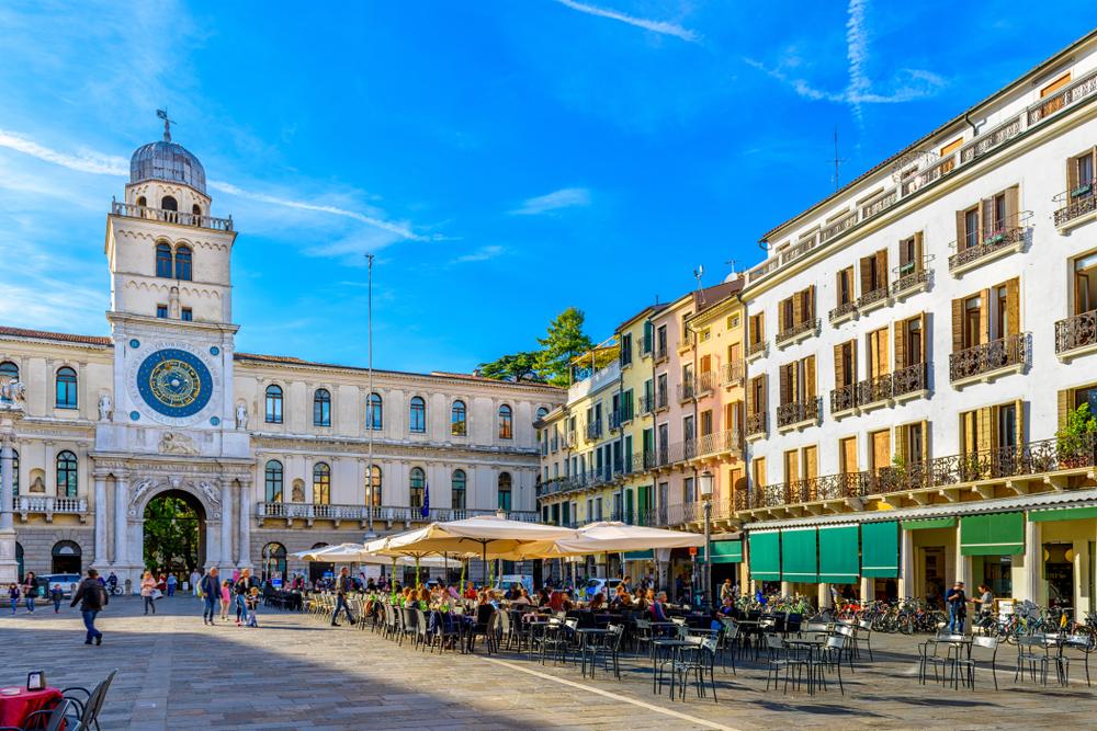 Scorcio panorama Padova
