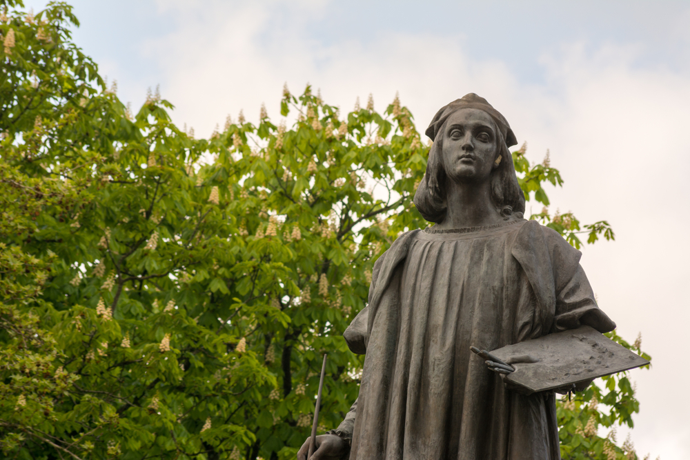 Statua Raffaello Sanzio