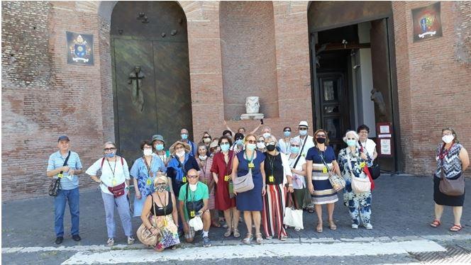 Gruppo di Caserta in visita a Roma