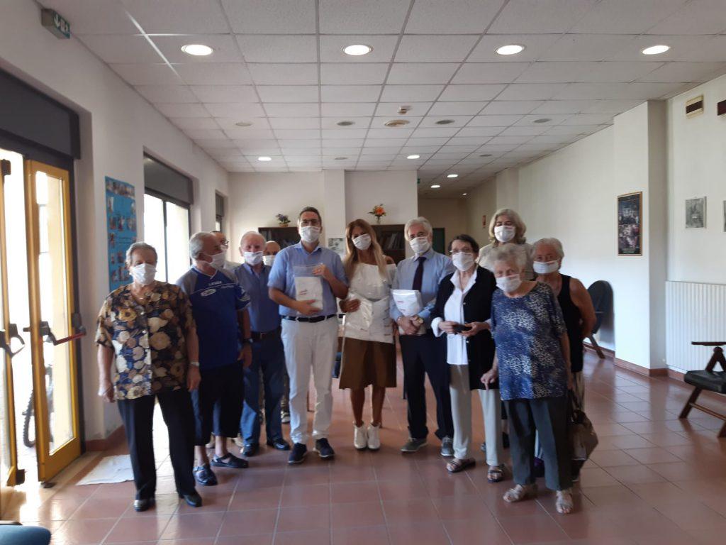 50&più Ascoli alla donazione di mascherine