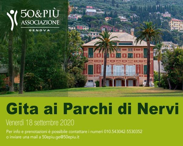 Locandina Genova ai Parchi di Nervi