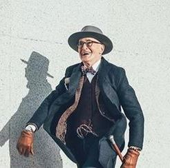 Günther Krabbenhöft, fashion influencer over 60
