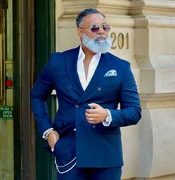 Irvin Randle, fashion influencer over 60