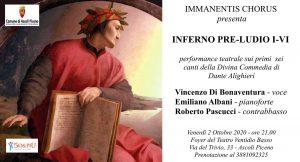 invito performance teatrale Dante