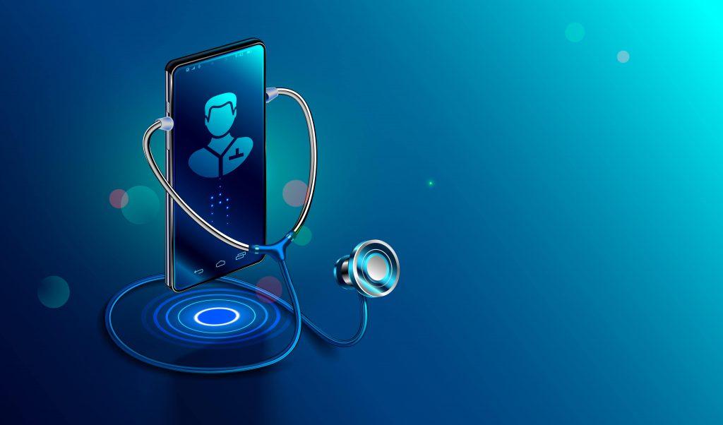 Smartphone con stetoscopio