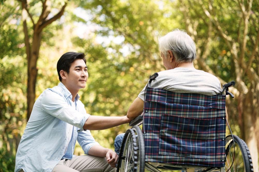 assistenza anziani Cina