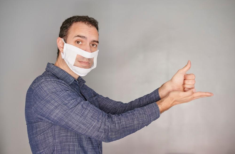 mascherina per sordi