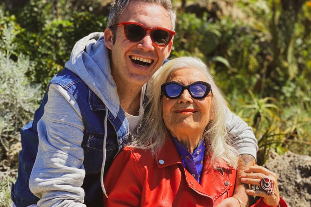 Licia Fertz ed Emanuele Usai
