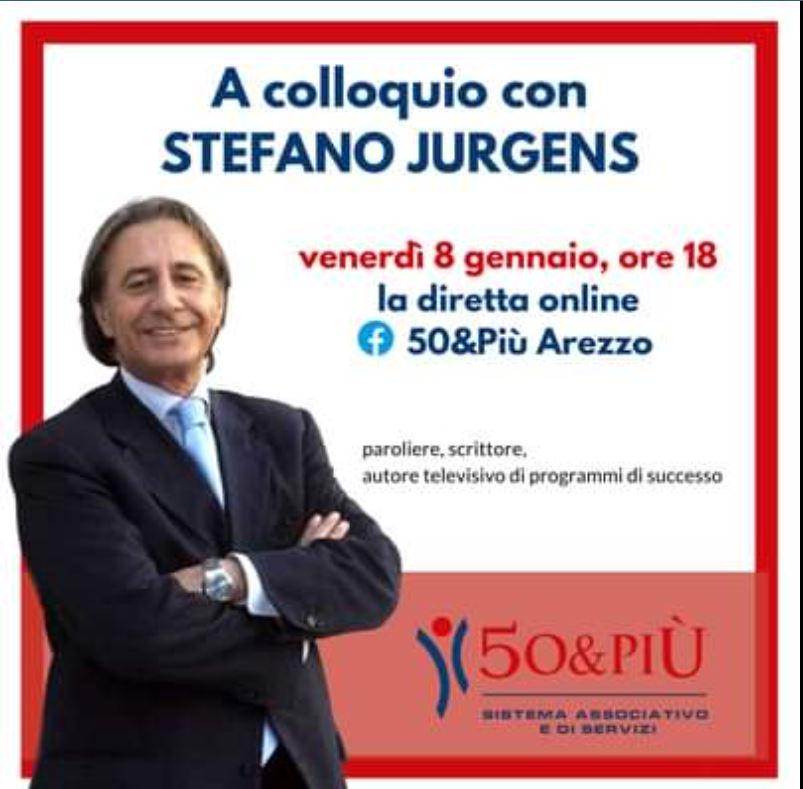 Locandina arezzo intervista con Stefano Jurgens