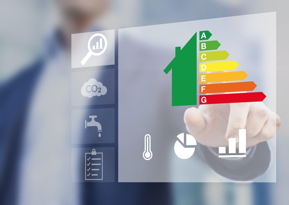 Classi energetiche di una casa