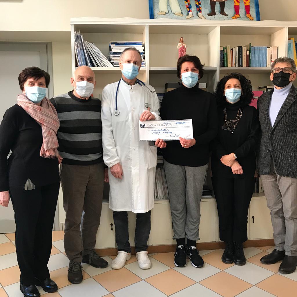 Piacenza donazione AMOP