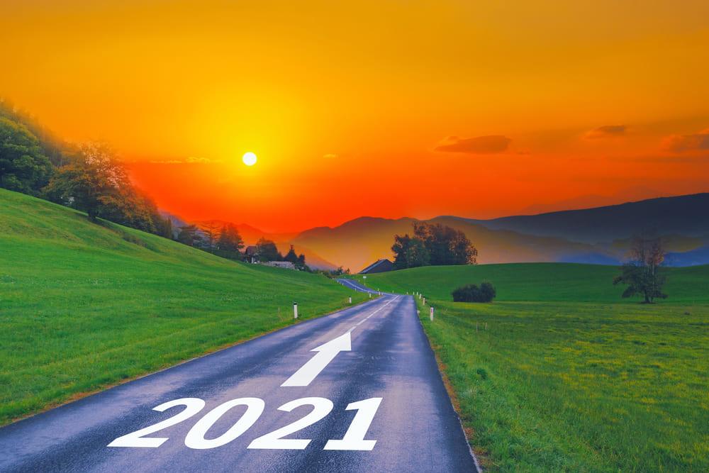 Strada che conduce al 2021