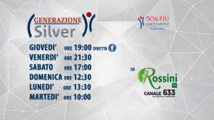 Pesaro programmazione generazione silver su rossini tv