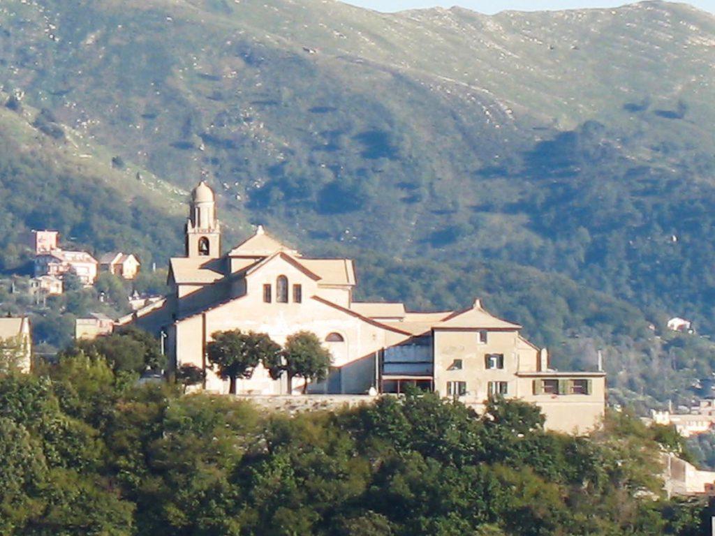 Genova santuario Nostra Signora del Monte