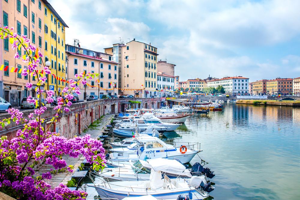 Panorama di Livorno