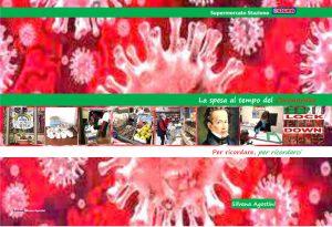 """Copertina del libro """"la spesa al tempo del coronavirus"""""""