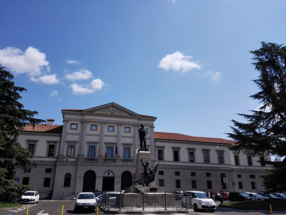 Piazza Garibaldi a Udine