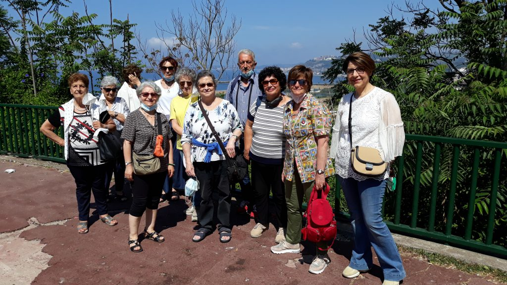 Gruppo di Caserta in gita Napoli