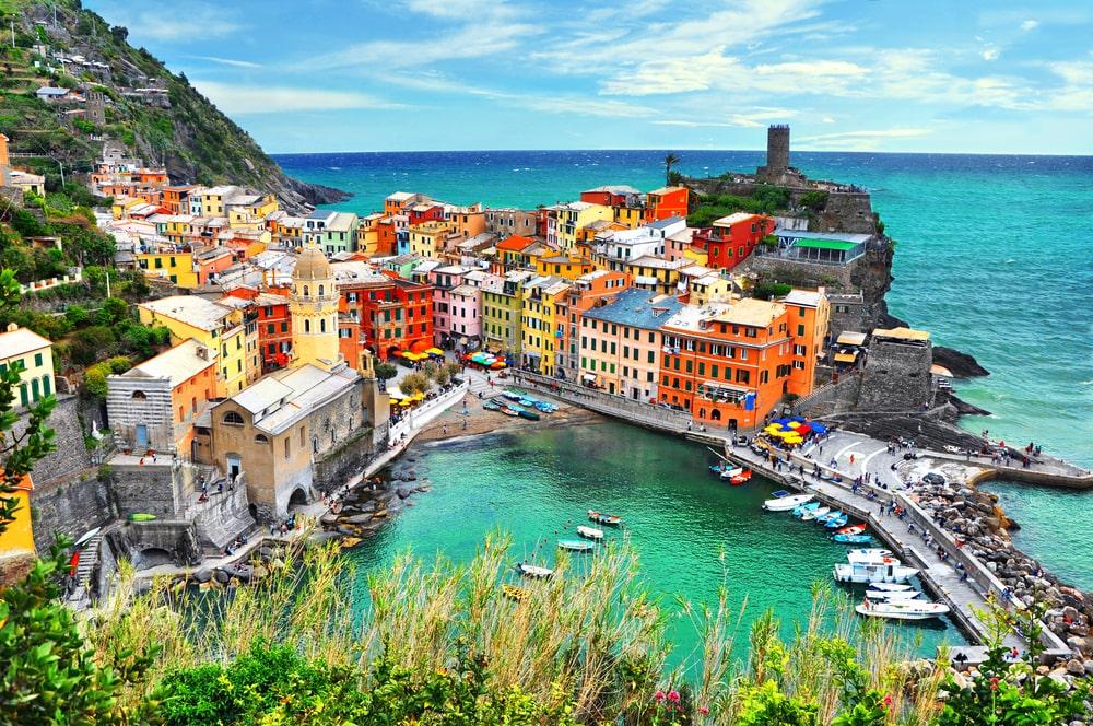 Uno scorcio della Liguria
