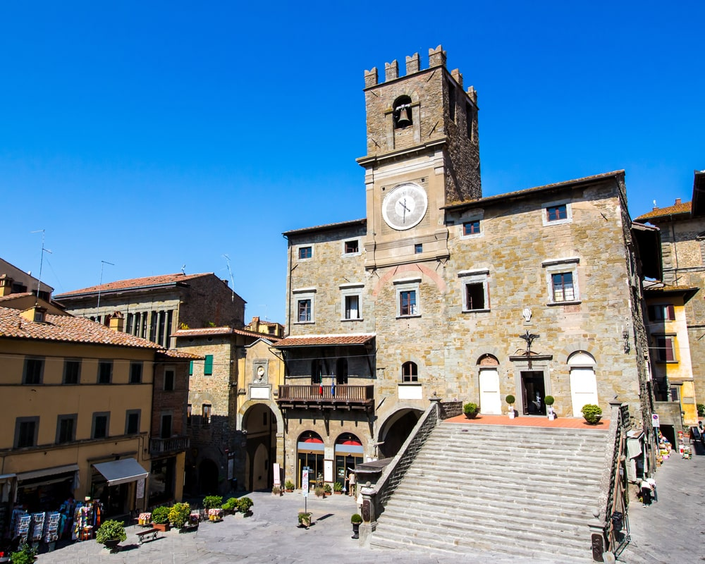 panorama di Cortona