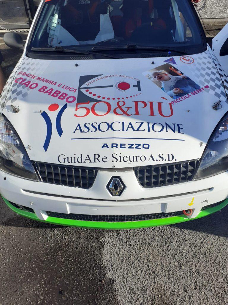 Rally del Cosentino, macchina 50&Più