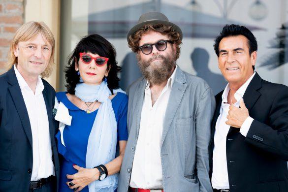 Elisabetta Sgarbi e gli Extraliscio (Foto di Giammarco Chieregato)