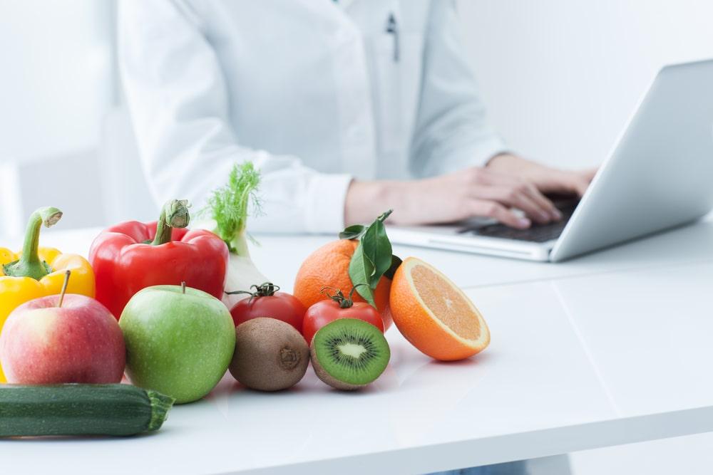 PC e cibo sano