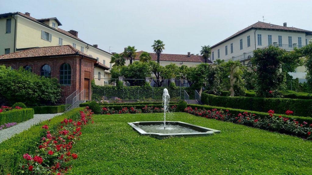 Biella giardini Palazzo Gromo Losa