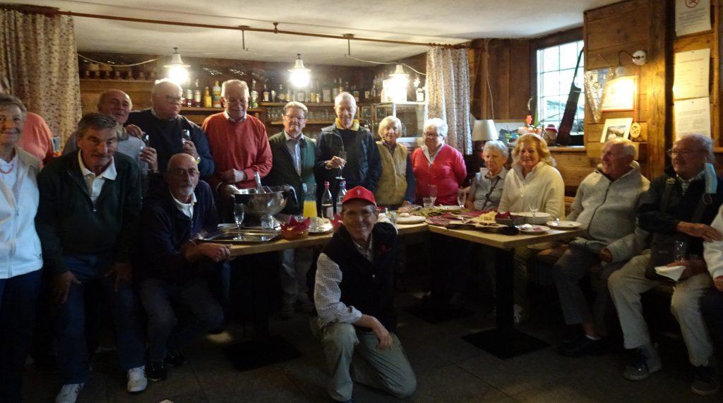 gruppo di 50&Biella in gita in Valle d'Aosta