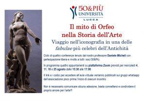 Locandina Lucca mito di Orfeo