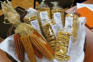 I prodotti lavorati dal mais nella Cascina Rapello