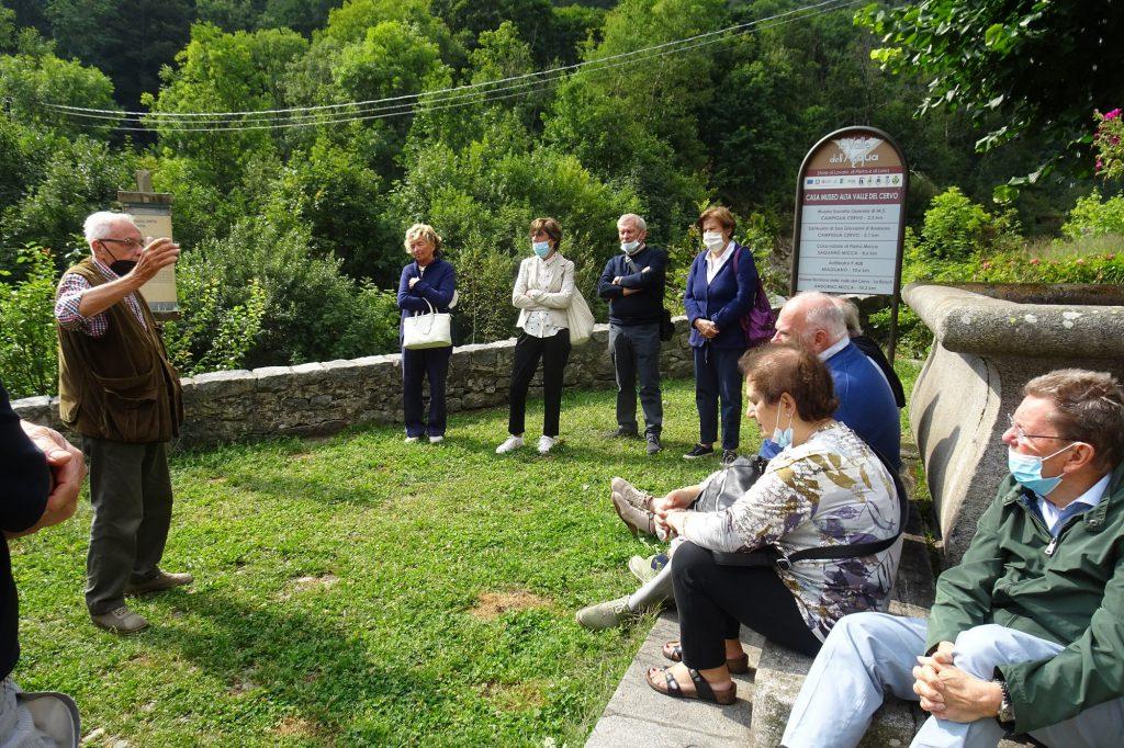 Gruppo soci di Biella a Rosazza