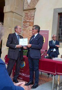 Premio Fair Play alla 50&Più consegnato al Vice Presidente 50&Più Franco Bonini